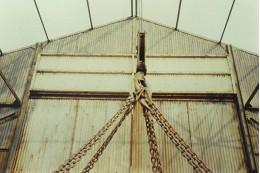 Viersprong in de loods van scheepswerf Schouten in Muiden