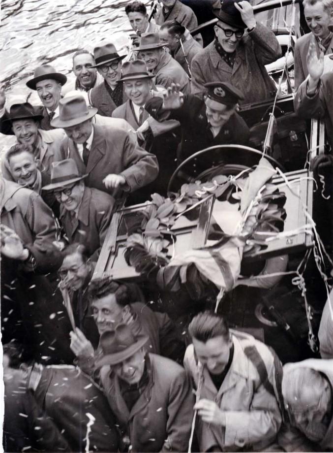 Bedolven onder de lauweren, Willem Los met pensioen in 1949.
