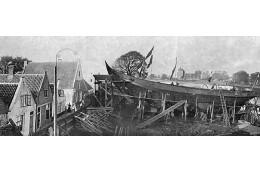 De helling van scheepswerf Schouten in Muiden